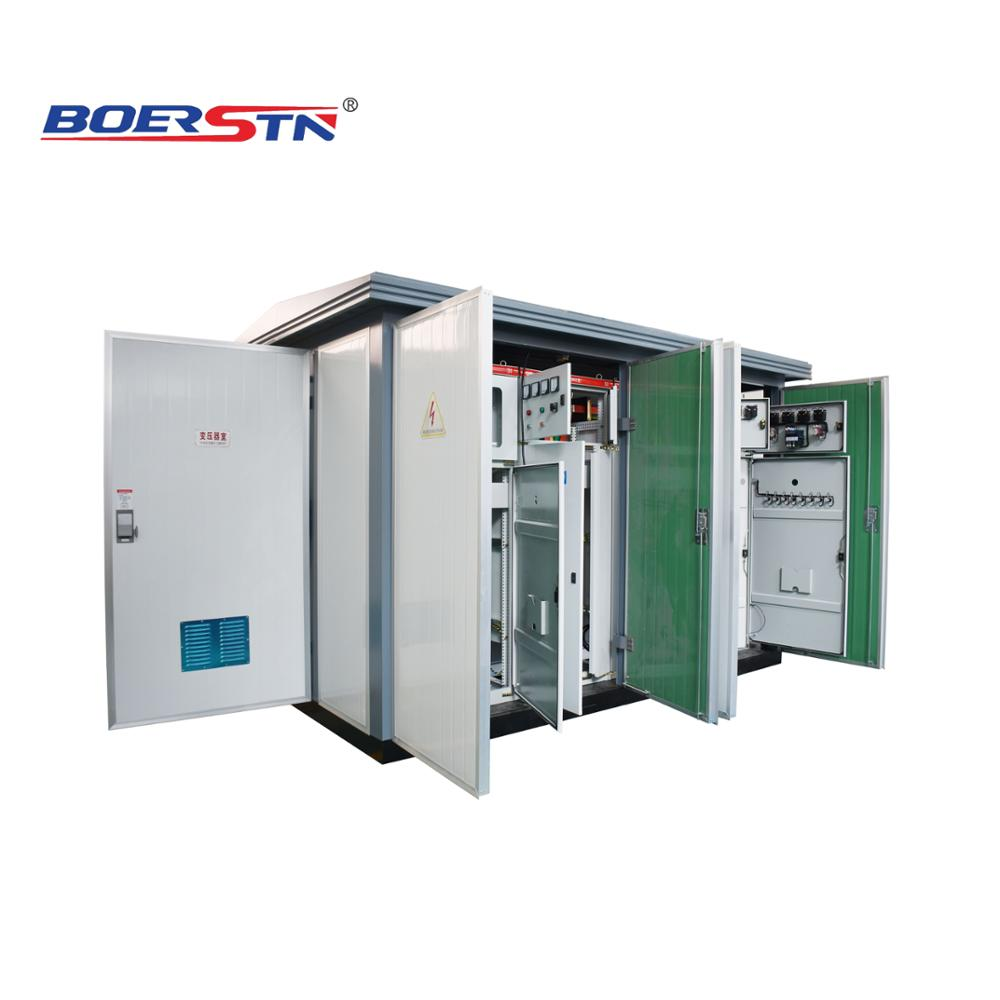 Skid Base Containerized Package Compact Substation 4g Wifi Network  Connection In Residential And Commercial Complexes - Buy Containerized  Package