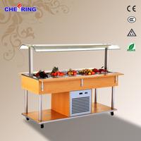 bar supplies/Canada Restaurant/Buffet Table Bar Refrigerator Salad Bar