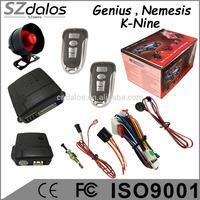 smart key alarm vecinal 4 key remote controller sheriff car alarm system with valet mode