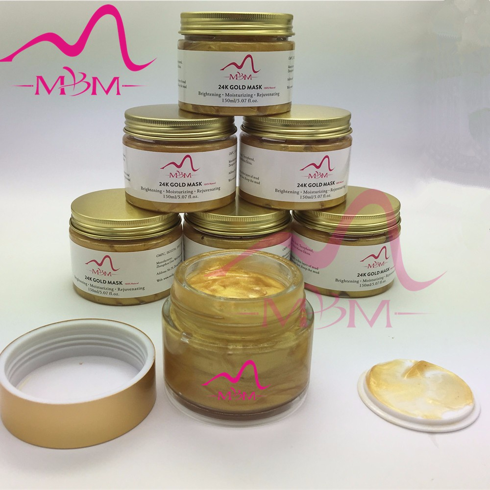 Beauty Korean Cosmetics 24K Gold Collagen Pearl Facial Mask