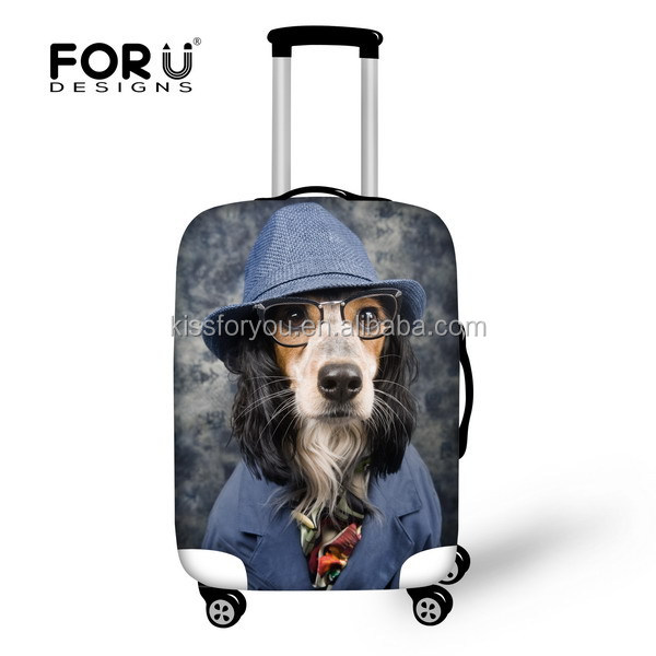 Neoprene luggage cover Protect luggage Thermal Dye Sublimation printing cover