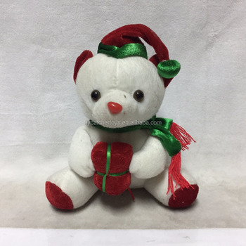 Christmas Toys 2017 >> 2017 New Design Custom Plush Christmas Toys For Kids Gifts Polar