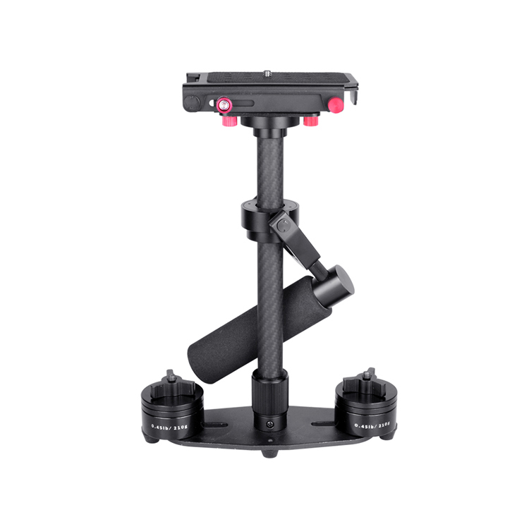 2018 LeadWin handheld carbon fiber 3 axis gimbal stabilizer camera suitable for dslr and phone фото