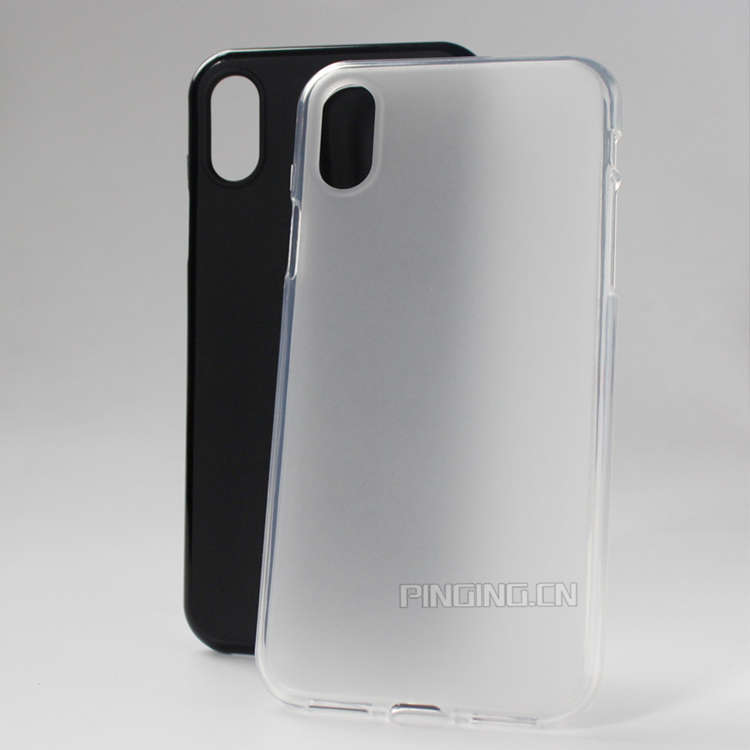 Soft frosted pudding tpu cover for iphone 8 tpu case