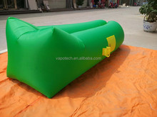 inflatable air sleeping lazy bag VS new style Square Head hangout laybag