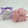 2016 New Design white&pink Pumpkin carriage Laser Cut paper wedding candy box chocolate favour box baby shower gift box
