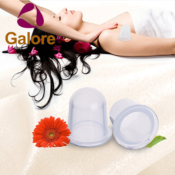 Facial Body Massage Suction Cupping Cups Set Anti Cellulite Vacuum Cup
