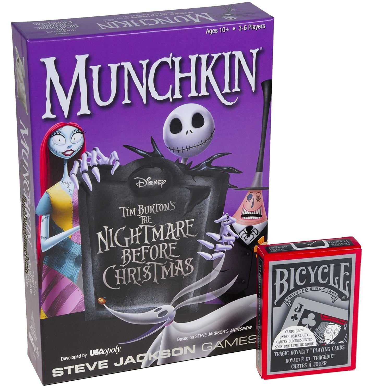 Buy The Nightmare Before Christmas (Tim Burton\'s) Munchkin Game _ ...