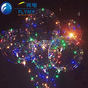 Gift Toy Use and Christmas Festival LED Bobo balloon light for promotion gift