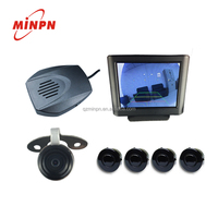 Simple Install Car GPS Parking Sensor Navigation With Wire Rearview Camera