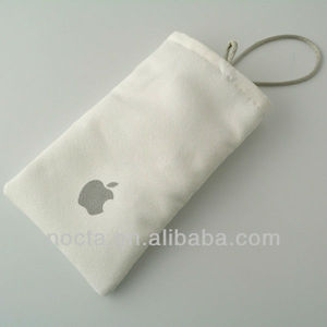 customized microfiber pouch for cell phone