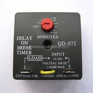 Delay on break timer