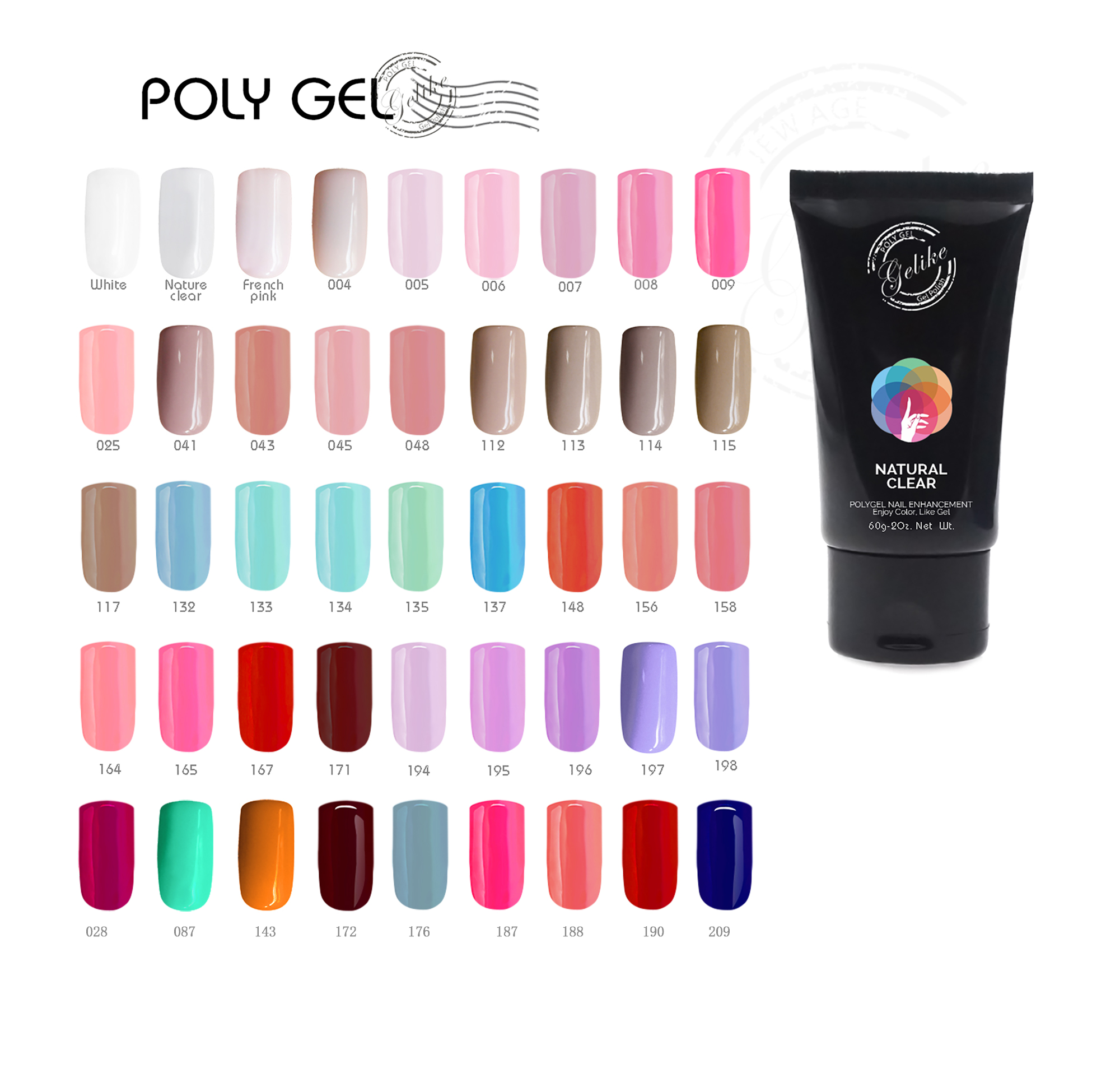 2019 newest arrival Poly <strong>Gel</strong> UV Builder <strong>Gel</strong> Polish Poly <strong>gel</strong> for extend nails