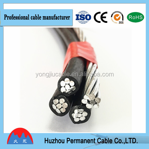 Cheap price Abc Cable, Aerial Bundle Cable, overhead cable of ningbo or shanghai port