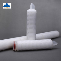 0.45 Micron PP Pleated Hydrochloric Acid Filter