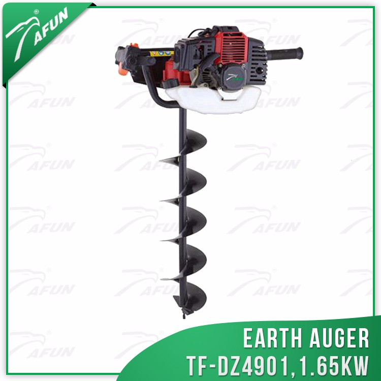 100mm auger for wells garden digging tools drilling for poles