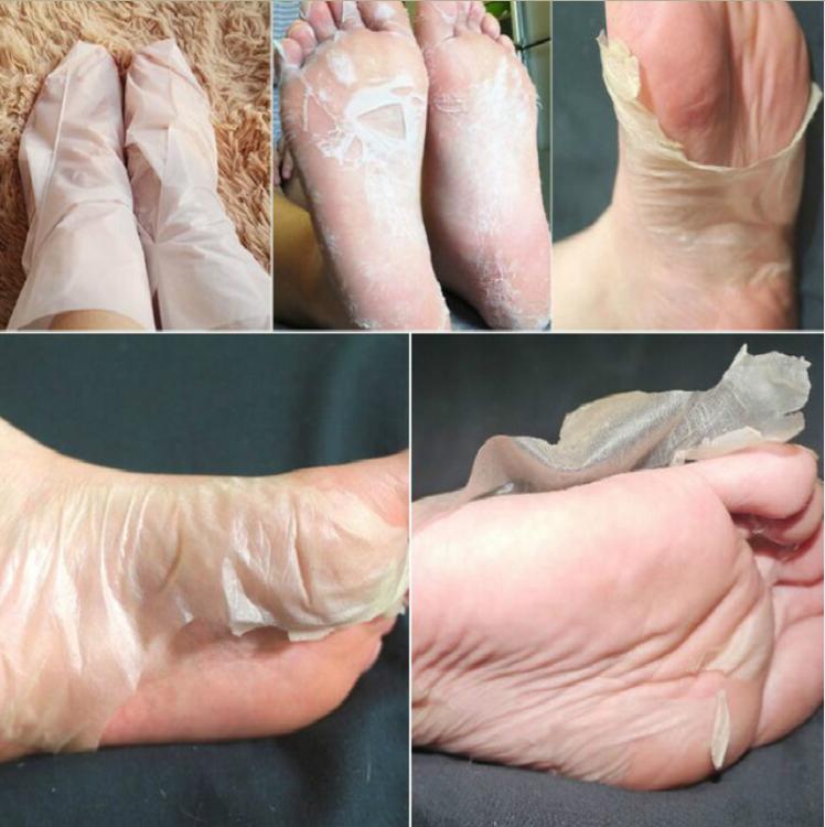 1 Pair/beutel Super Peeling Fuß Maske Socken Für Pediküre Socken Peeling Füße Maske Pflege Schönheit Haut Pflege Werkzeuge