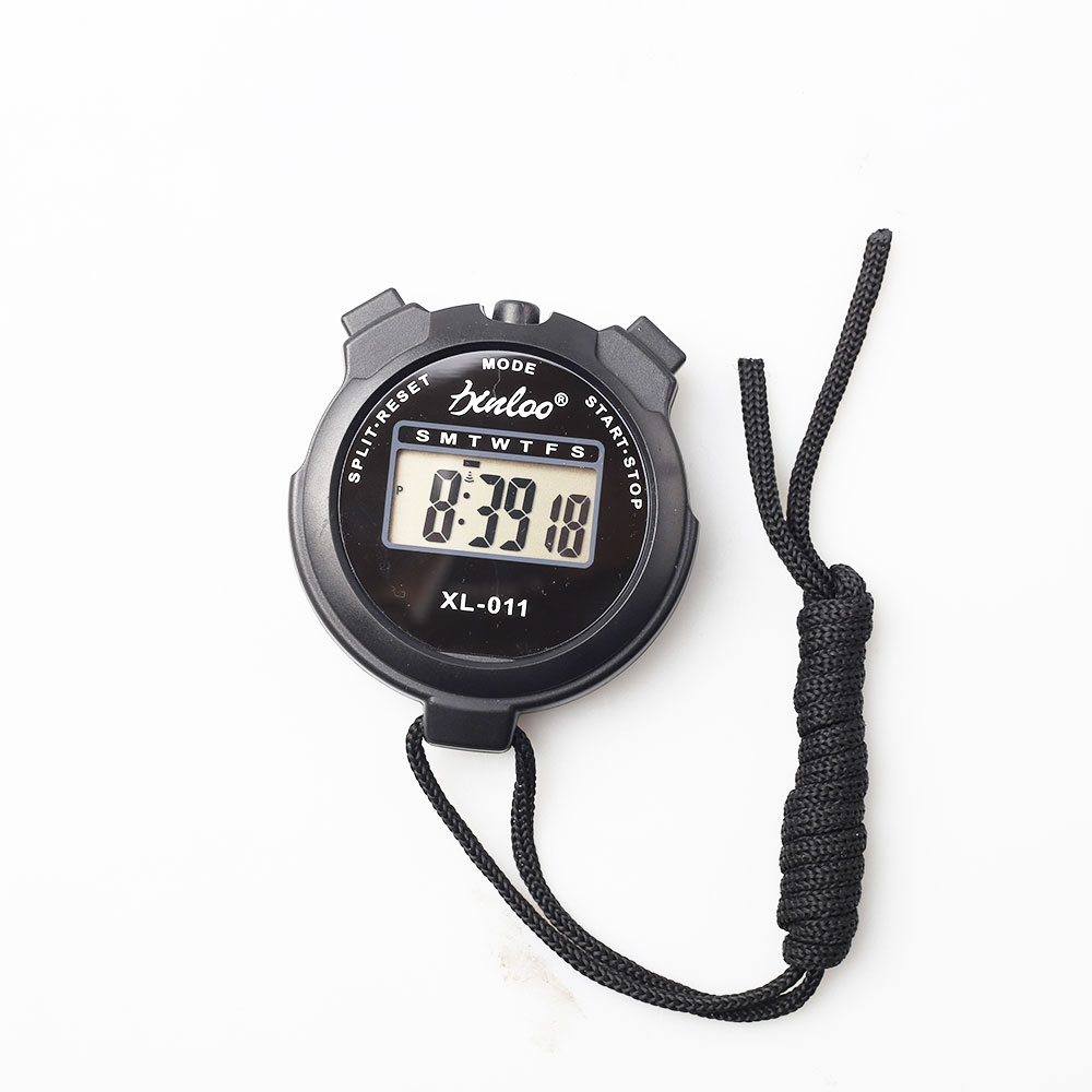 Digital Professional Handheld LCD Chronograph Sport Timer Culater Stoppuhr Timer