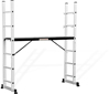 aluminum ladders and scaffold or walk boards