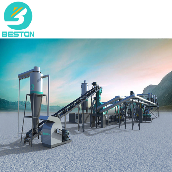 BESTON BST-05 0.5-1t/h peel continuous charcoal carbonization furnace machine