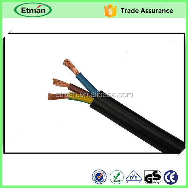 2011 HOT SALE Heavy Duty Rubber Sheathed Flexible Power Cable 450/750v under ASTM standard for Cuba