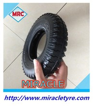 CHINA factory MRC Brand top quality rubber wheelbarrow tire wheelbarrow tyre and inner tube 2.50-4