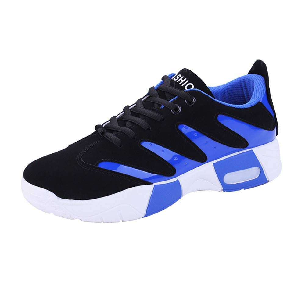 Sneakers for Men,Clearance Sale! Caopixx Men's Casual Breathable Sports Shoe Athletic Lace up Fashion Running Sneakers