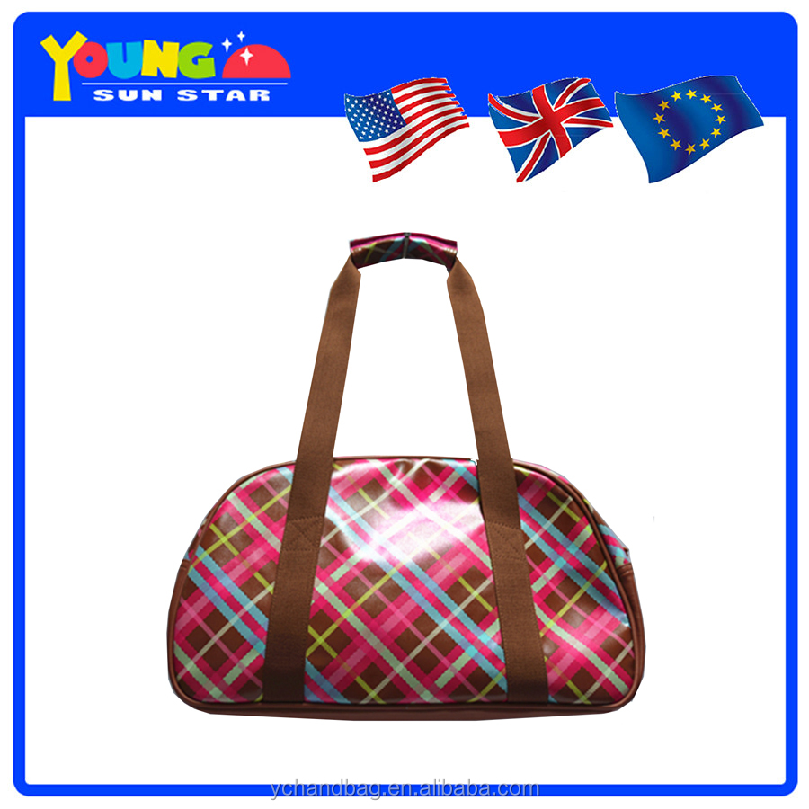 Manufacturer wholesale ladies customized GOOD QUALITY travel bag