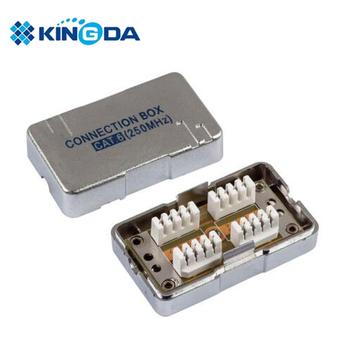 network ethernet surface mount box stp cat 6 connection box