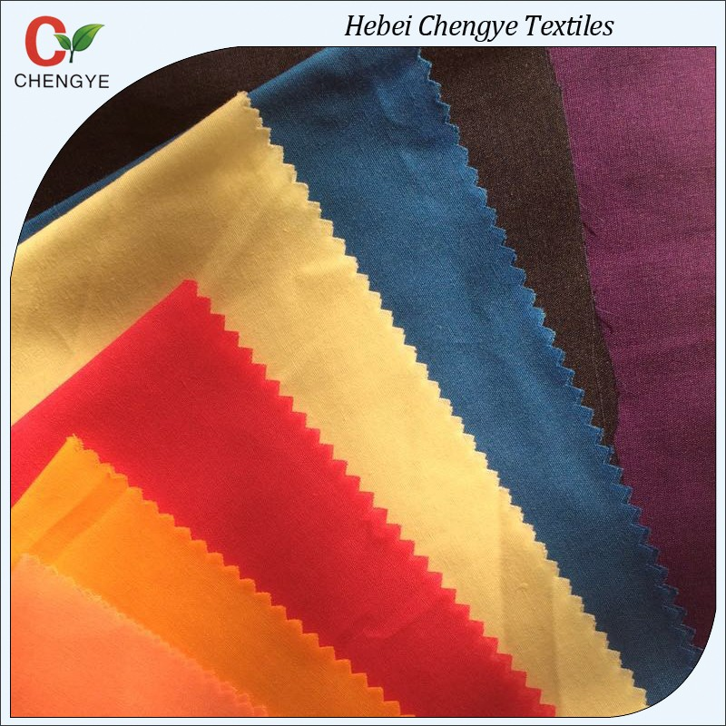 cheap tc 80/20 dyeing pocket poplin fabric shijiazhuang manufacture