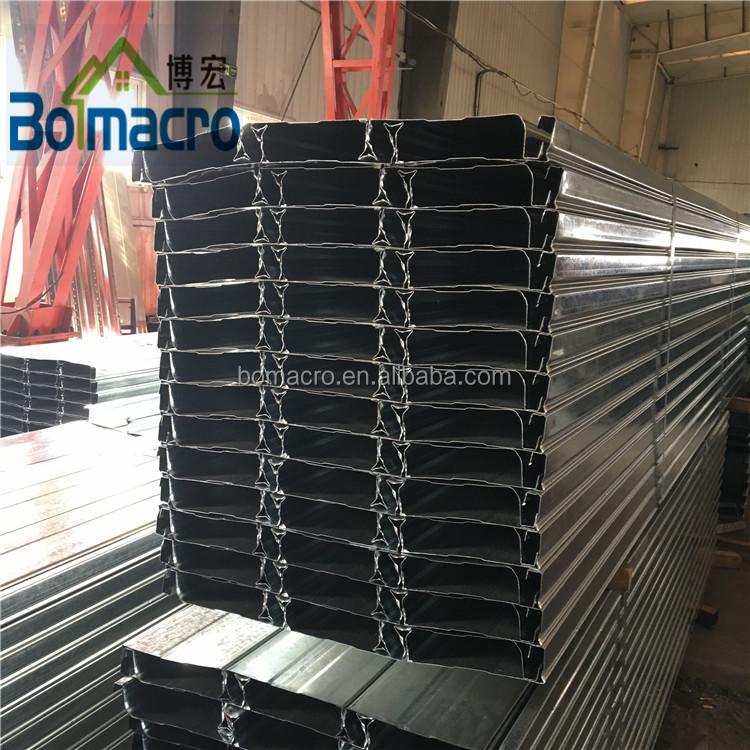 סין פח פלדת גיליון קירוי הסיפון/מגולוון מתכת רצפת הסיפון גיליון/פלדה נשיאת רצפת צלחת