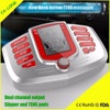 New knob button electronic pulse massager with Two channel outputs TENS EMS stimulate machine