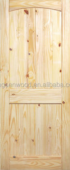 2 Panel V-Groove Kotty Pine Door
