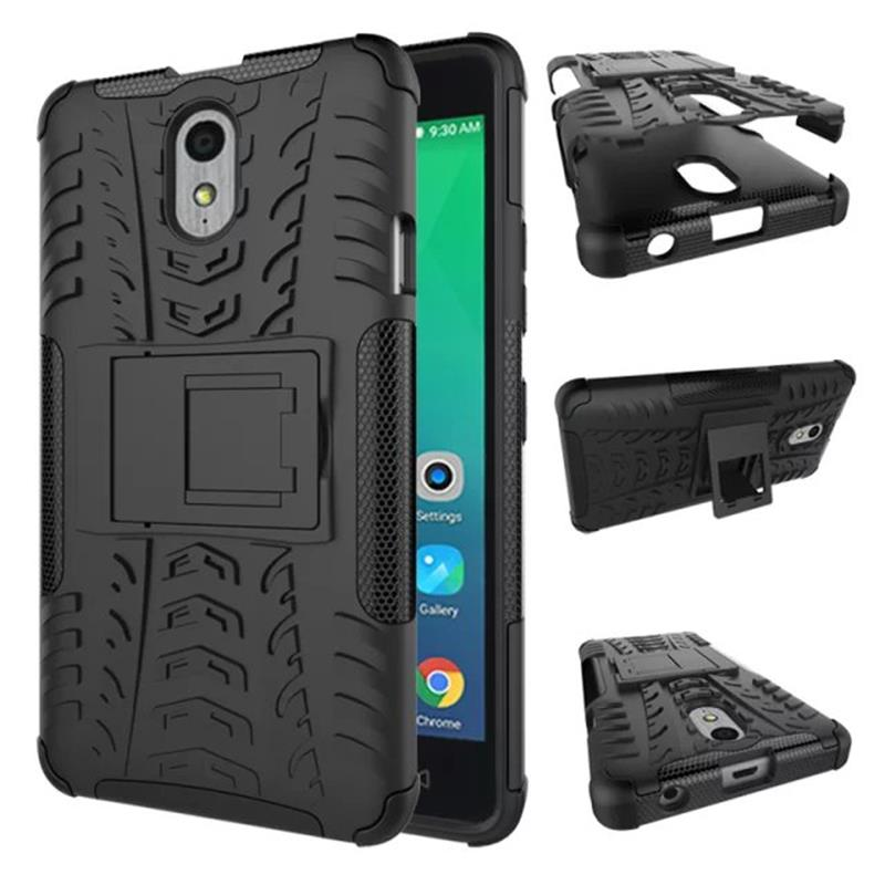 on sale 2a7b7 48e27 Lenovo Vibe P1M Case High Quality with holder Protective TPU+Hard Back Case  Cover for Lenovo Vibe P1M Smartphone Free Shipping