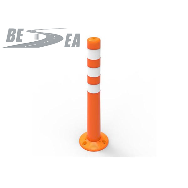 3 Types Base Road Safety Assemble PU Flexible Post