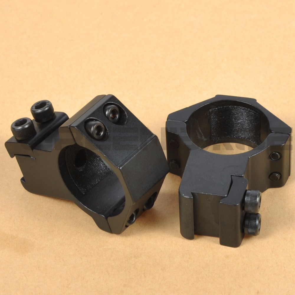 Greenbase High Profile Scope Mounts 30mm Rings for 11mm Dovetail Rail Flashlight Mount Ring