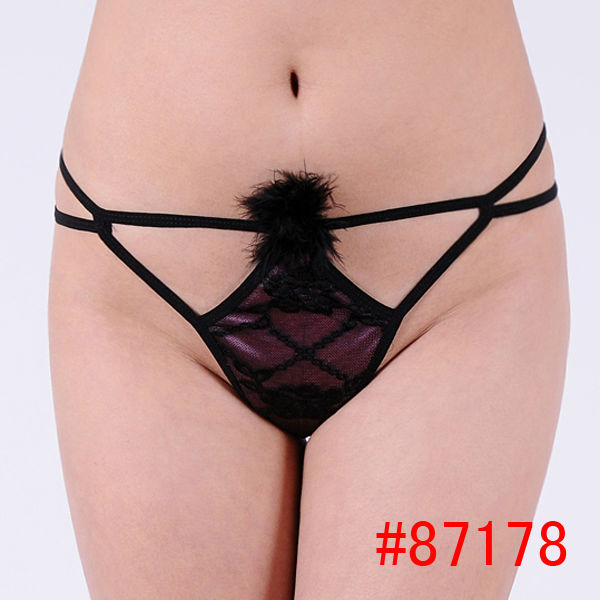 Hot <strong>sexy</strong>!!! very open <strong>sexy</strong> ladies panties g-string with feather