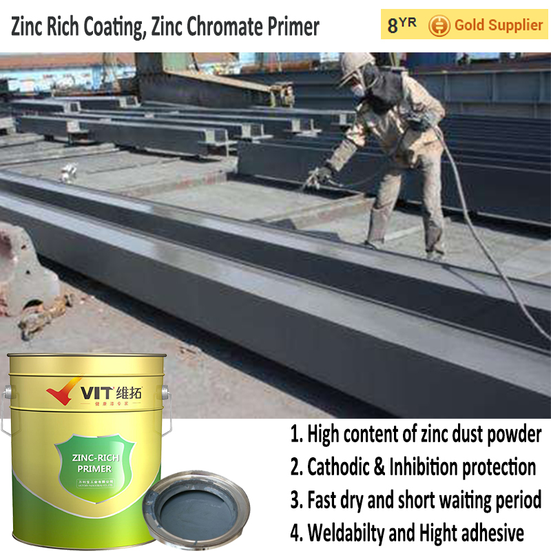 Organic Solvent Zinc Rich Paint,Zinc Phosphate Coating - Buy Zinc