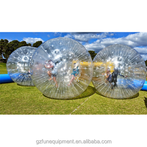 2018 China top selling high quality inflatable water walking crazy sports tube zorb ball for fun