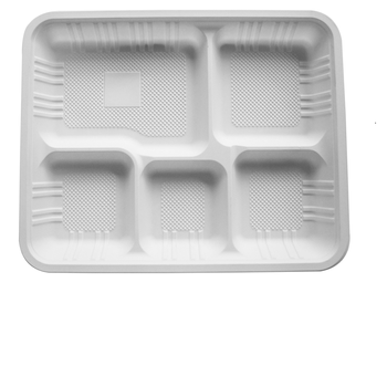 biodegradable disposabla plastic small tray