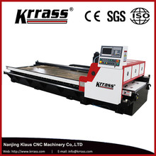 KRRASS 4000mm length cutting machine aluminum composite panel grooving machine