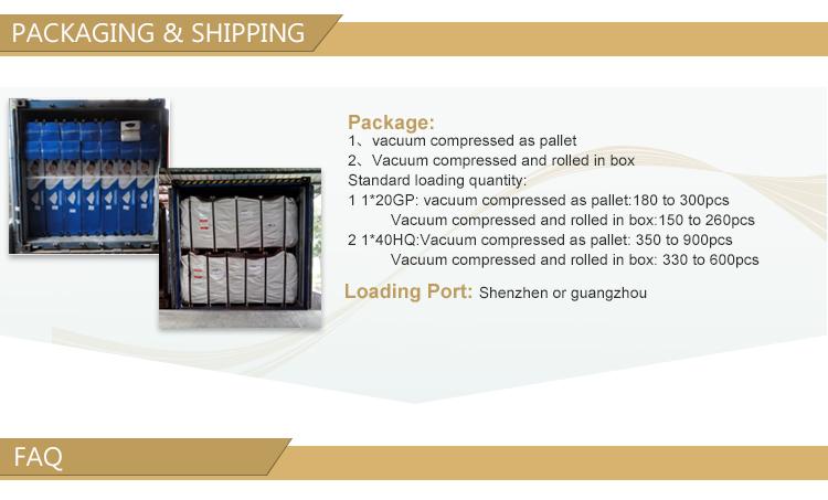 Colchón de espuma de látex natural de buena calidad, colchón de espuma viscoelástica del fabricante de colchones