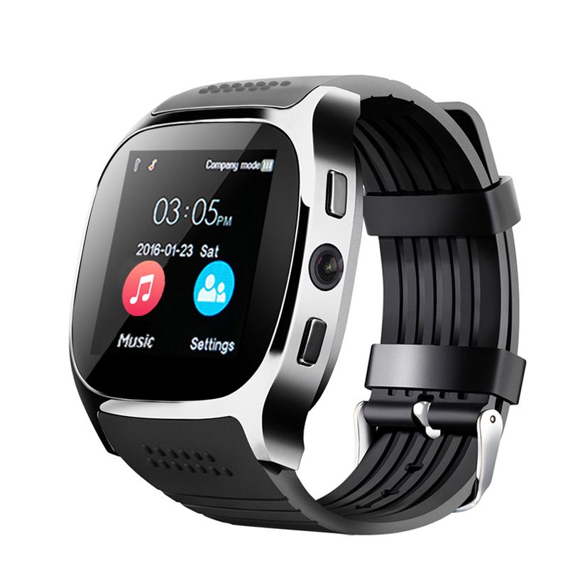 Alibaba.com / China manufacturer Shenzhen factory Ble Smart watch T8 mobile phones with sim card