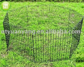 rabbit run cage wire pet enclosure metal folding wire rabbit enclosure pet fence rabbit cage