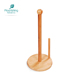 Cheap Funny Wooden Bamboo Kitchen Toilet Tissue Paper Towel Holder