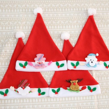 Christmas Decoration Cartoon Cap Adults Kids Christmas Hat Buy