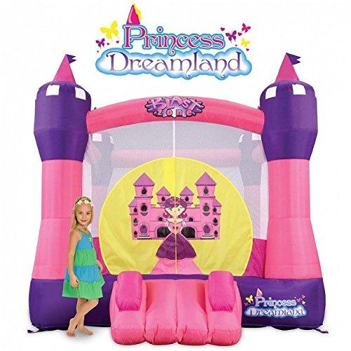 Blast Zone Princess Dreamland Inflatable Bounce Castle by Blast Zone