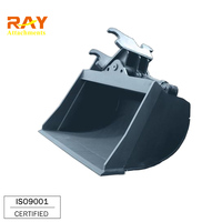 1m3 Tilt Bucket Rotating Buckets For Excavator/Backhoe