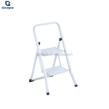 Magnificent Goldgile Popular 2 Step Steel Portable Folding Heavy Duty Ladder Buy Steel Step Stool Steel Ladder Steel Square Ladder Product On Alibaba Com Pabps2019 Chair Design Images Pabps2019Com
