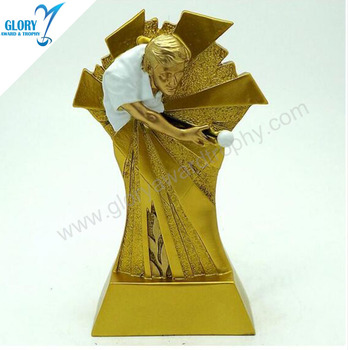 Wholesale popular Billiards sports trophy